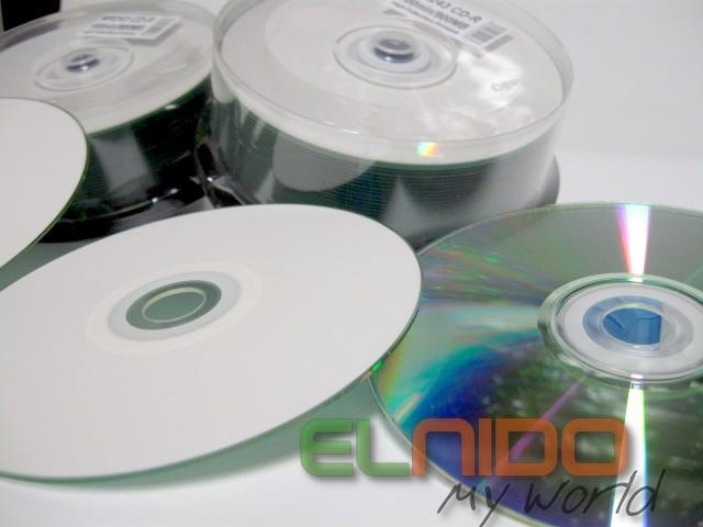 Pyty CD R Warstwa Printable BIAA Pena Powierzchnia Do Nadruku Atramentowego Mae Oczko Nonik Najwyszej Jakoci Nie Porwnywa Z Tanimi Pytami Na