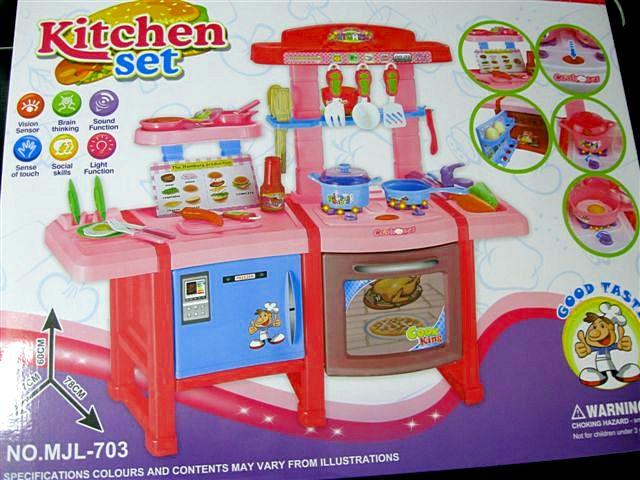 Duza Kuchnia Dla Dzieci Akcesoria Swieci I Gra
