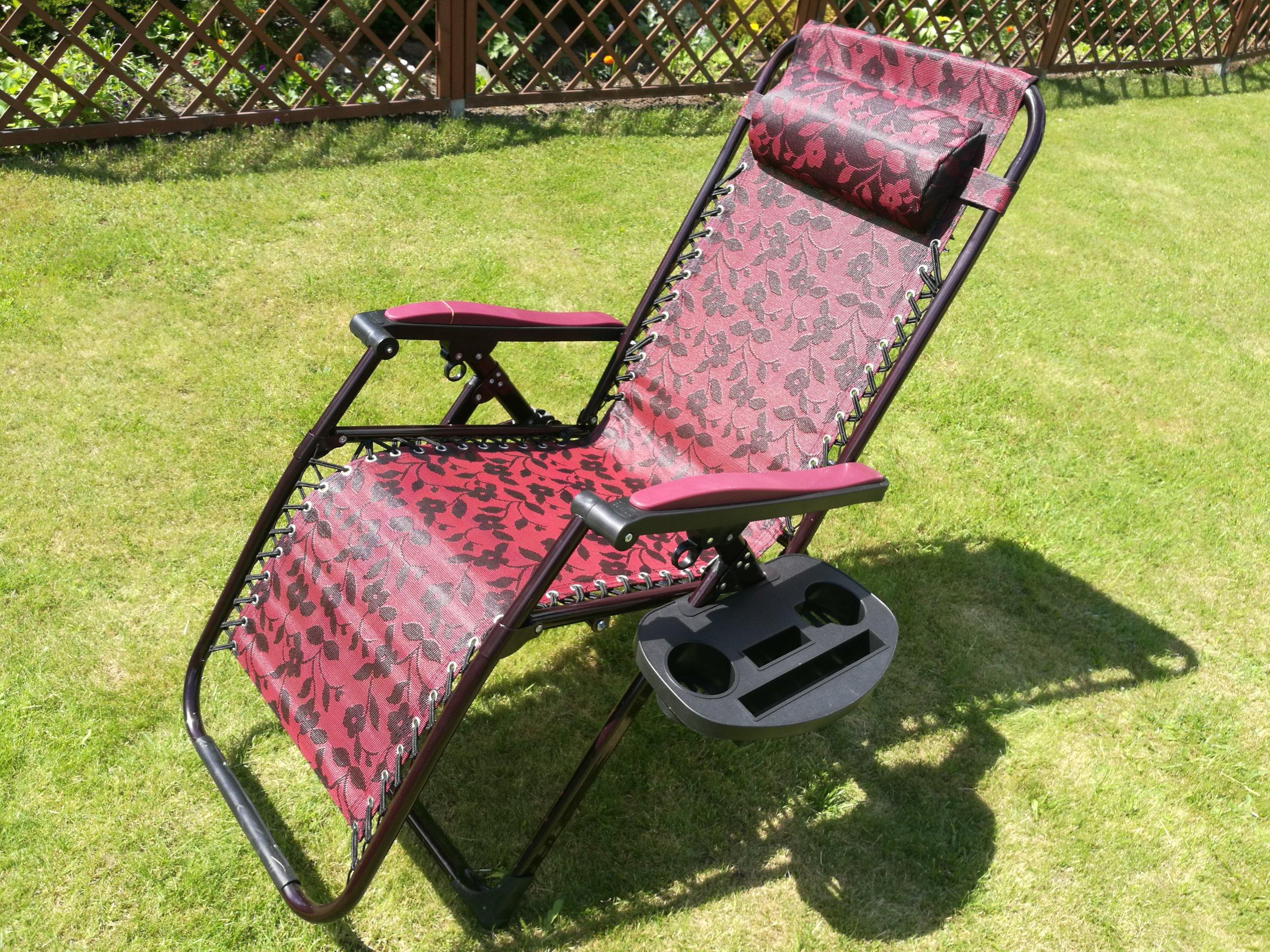 Leżak Ogrodowy Fotel Plażowy łóżko Leżanka Exlusiv